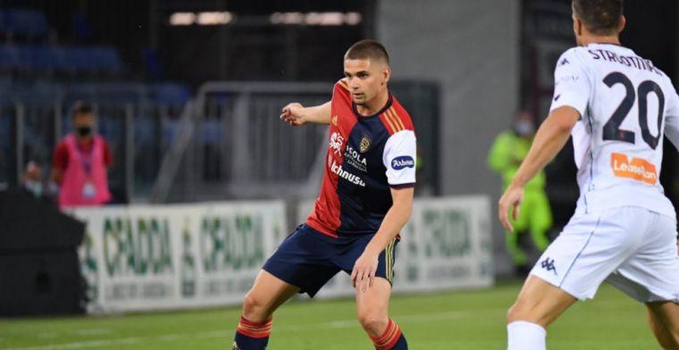 Ajax moet geduld hebben, Marin wil ook volgend seizoen bij Cagliari spelen