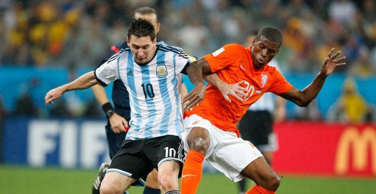 Zaakwaarnemer Wijnaldum: 'Messi was erop gebrand, groot compliment voor Gini'