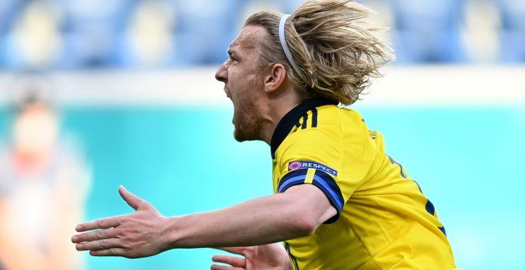 Zweden legt Slowakije in povere wedstrijd door benutte penalty over de knie