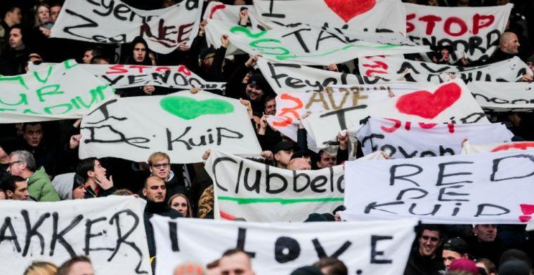 Gemeenteraad ziet 'schandelijke vertoning' Feyenoord: 'We verwachten leiderschap'