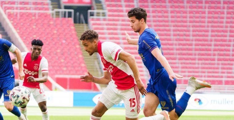 Ajax verlengt contract van Rensch na doorbraak: Het gaat pijlsnel met Devyne