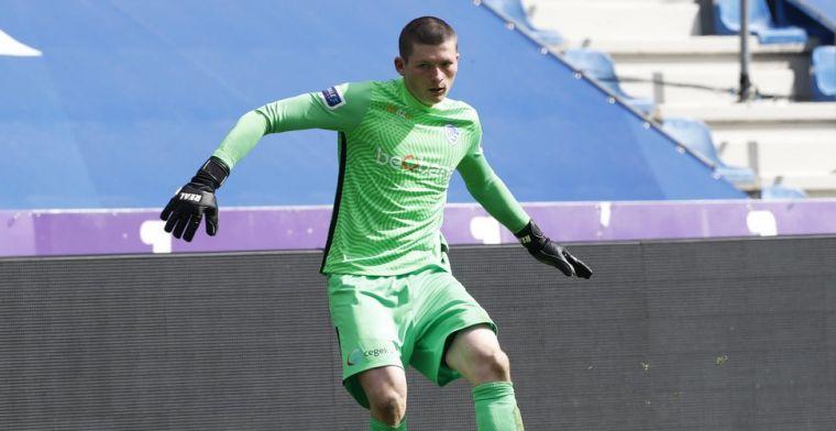 OFFICIEEL: KRC Genk verlengt contract van talentvolle doelman Leysen