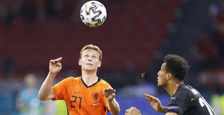 Oranje voor 53.000 toeschouwers in achtste finale: 'Feest van maken'