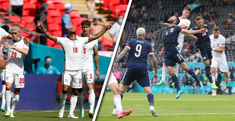 LIVE-Discussie: Engeland en Schotland na 25 jaar weer tegenover elkaar op Wembley