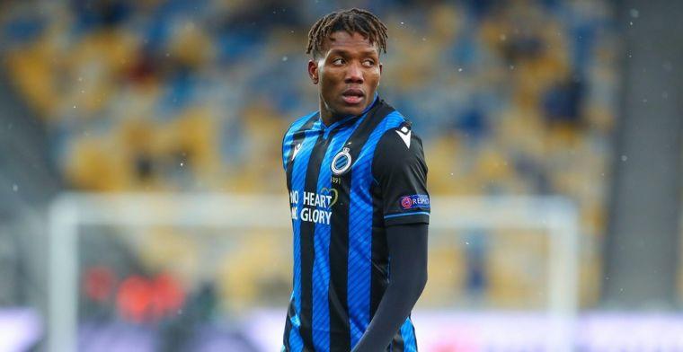 Club Brugge ziet aanvaller vertrekken: 'Okereke aast op een transfer'