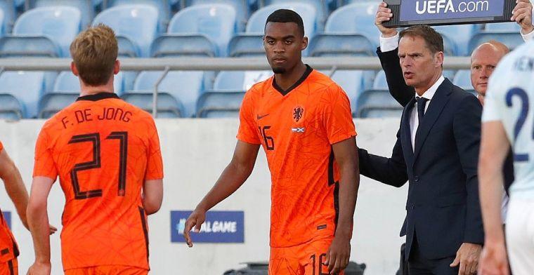 Gravenberch kijkt ogen uit bij Oranje: 'De goede dingen die hij doet pik ik op'
