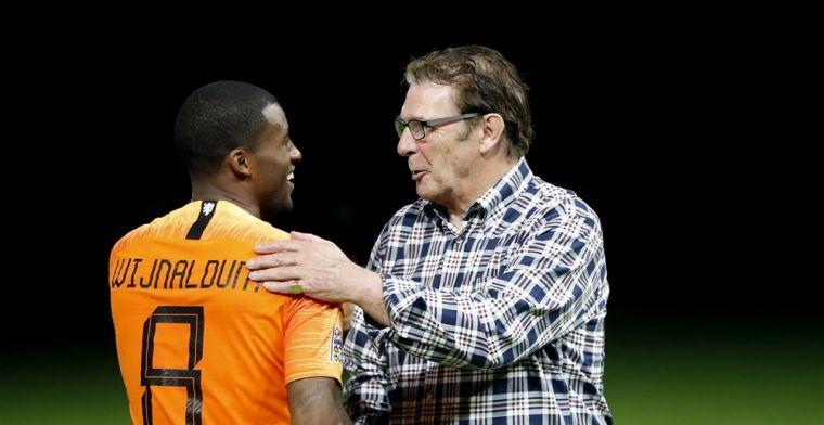 Van Hanegem oordeelt: 'Dat zijn de drie beste spelers van Oranje tot nu toe'