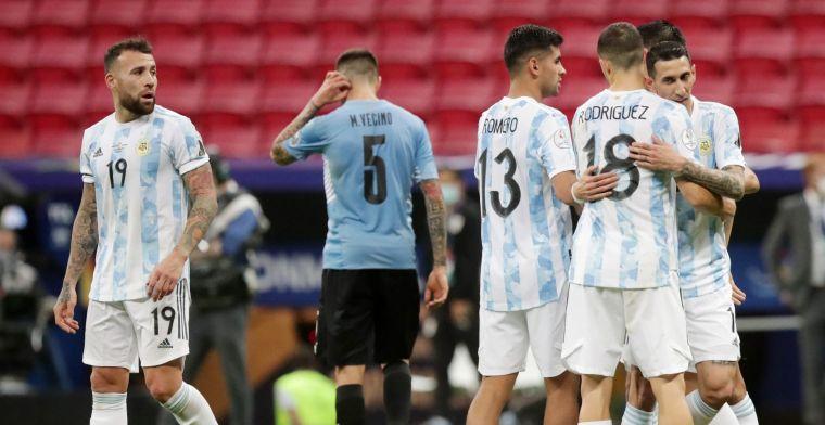 Argentinië en Messi rekenen af met Uruguay en Suarez