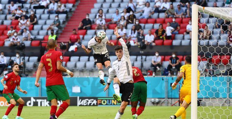 Duitsland wint van Portugal na fantastische EK-kraker in groep des doods