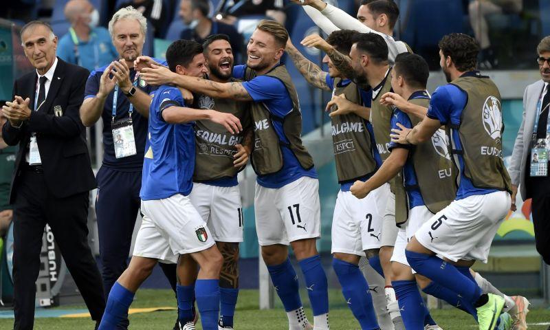 Afbeelding: Onpasseerbaar Italië met Wales naar achtste finales EK, Zwitserland in wachtkamer