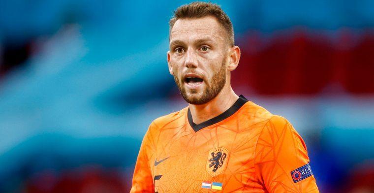 De Vrij merkt weinig van aanwezige Oranje-fans: 'Dan hoor ik ze niet meer'