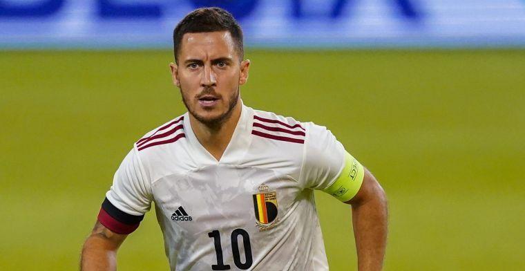 """Hazard is klaar voor basisplaats: """"Vertrouwen groeit door bal te raken"""""""