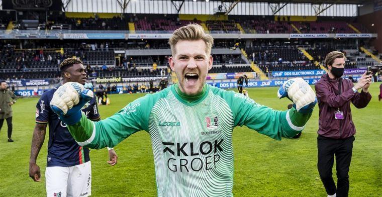 'Branderhorst vreest niet voor 36-jarige concurrent en gaat met NEC Eredivisie in'