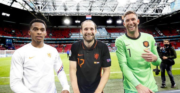 Janssen ziet zwakke Oranje-plek: 'Dat is reden dat De Ligt in midden speelt'