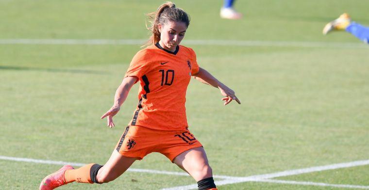 Volgende Oranje Leeuwin maakt transfer: Van de Donk verlaat Arsenal na zes jaar