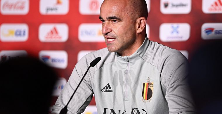 Martinez over E. Hazard: Of hij zal spelen zondag? Dat weet ik nog niet