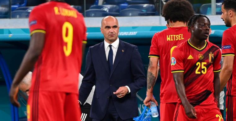 Roberto Martinez: Ik zeg niet dat Doku Mertens is voorbij gestoken in de pikorde