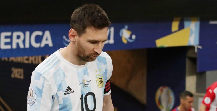 Messi evenaart Mascherano, Argentinië door naar Copa América-kwartfinales