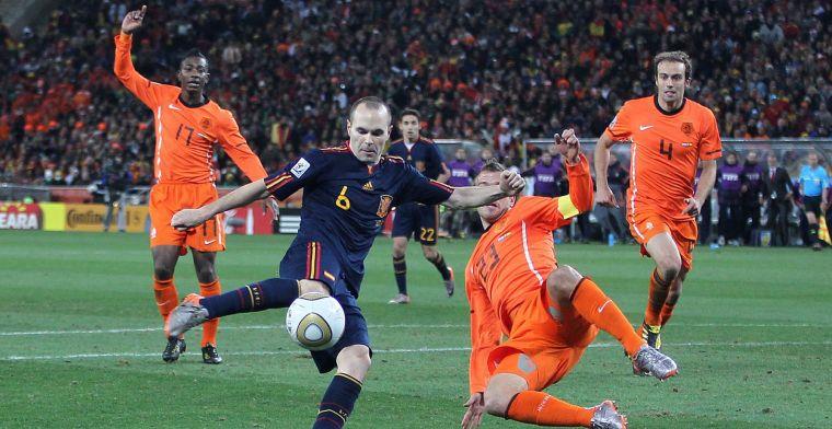 Koke (Spanje) slaat terug naar Van der Vaart: 'Foto van Iniesta, met hem ernaast'