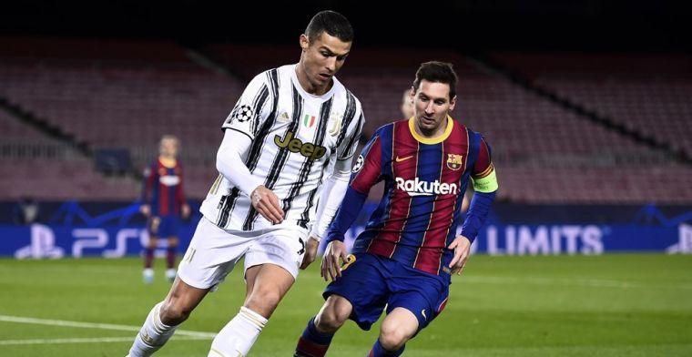 Opvallend bericht van AS: Barça-voorzitter Laporta wil Messi en Ronaldo verenigen