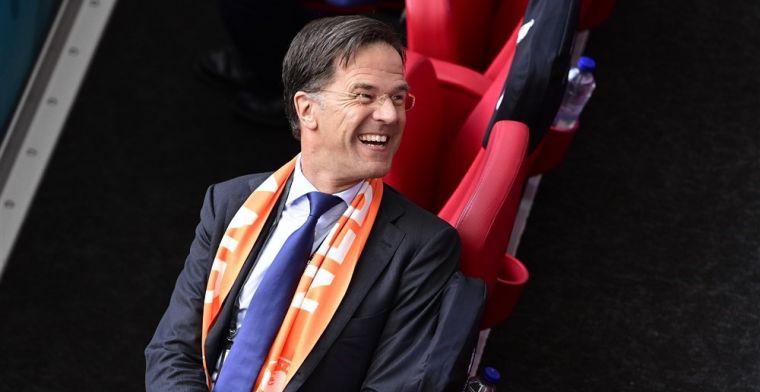 'Tweede Kamer wil geen hoogwaardigheidsbekleders bij eventuele Oranje-kwartfinale'