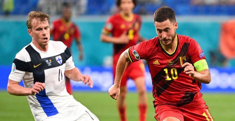 Spanjaarden twijfelen over Hazard: Europese top is misschien voorbij voor hem