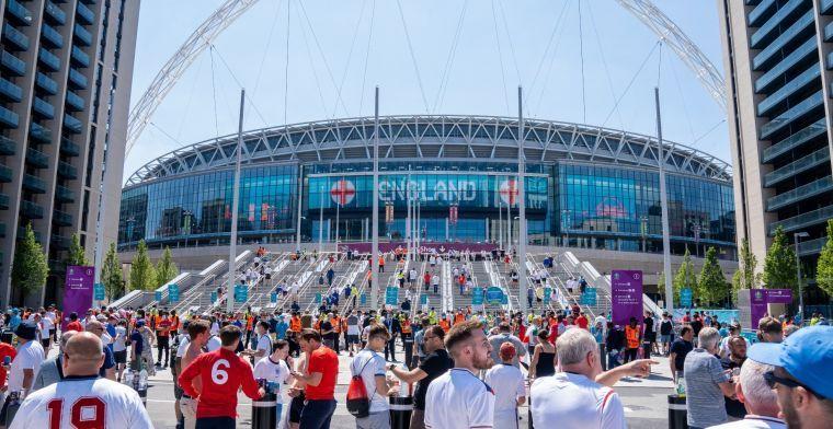 'Supporters uit Duitsland niet welkom op Wembley bij EK-duel met Engeland'