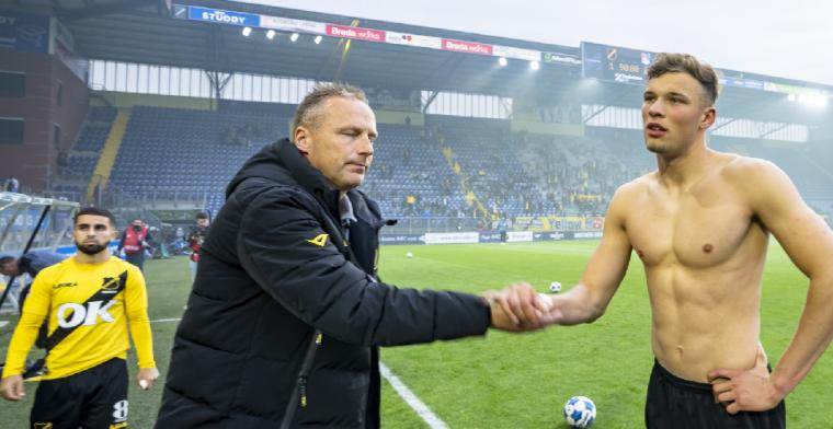 NAC Breda vindt tijdelijke oplossing voor start seizoen na vertrek Steijn