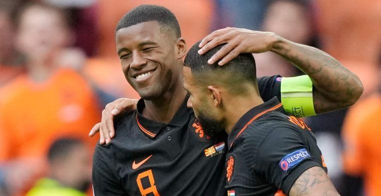 Wijnaldum maakt Oranje-statement: 'Daar ben ik anders over gaan denken'