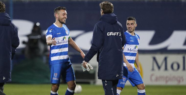 Bertrams duikt na vertrek bij PEC Zwolle op in de Keuken Kampioen Divisie