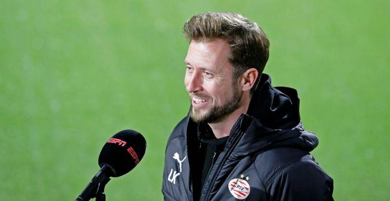 Wijziging in technische staf PSV: assistent van Schmidt vertrekt uit Eindhoven