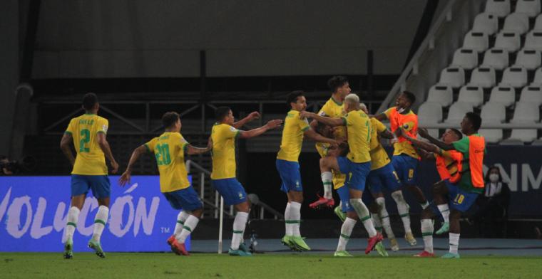 Brazilië grijpt de winst op Copa América na zeer omstreden gelijkmaker