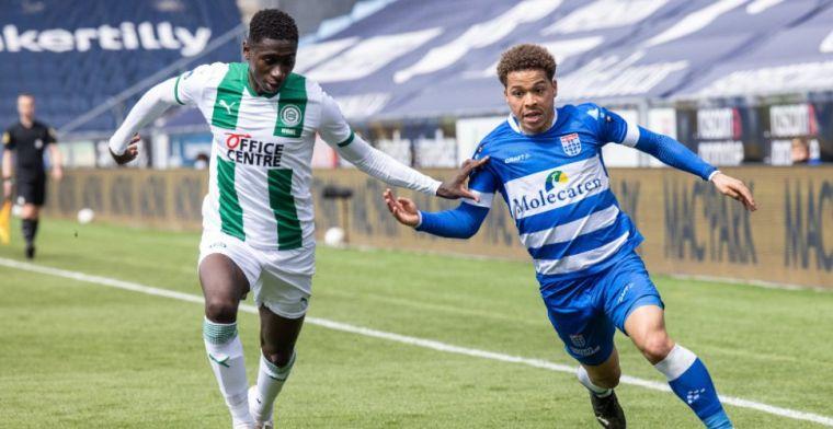 Versterking voor Emmen: FC Groningen-verdediger na debuut naar Oude Meerdijk