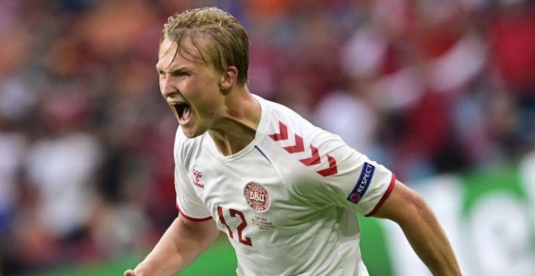 Dolberg juicht in Arena: 'Had langer van hem willen genieten bij Ajax'