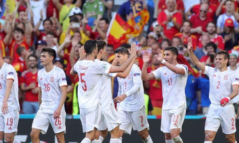 Afbeelding: Spanje eist kwartfinaleplaats op na heerlijk voetbalgevecht tegen Kroatië