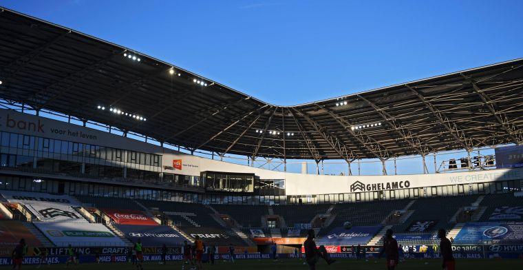 KAA Gent speelt eerste twee thuiswedstrijden met publiek in bubbels