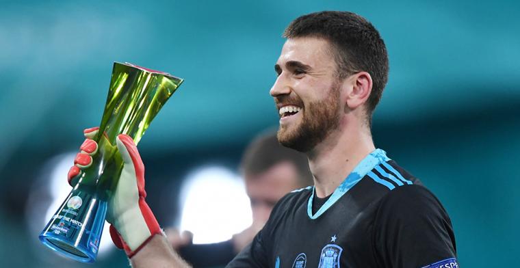 Man of the Match Simón wil eretitel delen: 'Hij heeft geweldig gekeept'