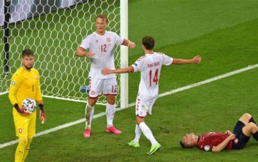 Afbeelding: Denemarken rekent na bliksemstart af met Oranje-beul Tsjechië