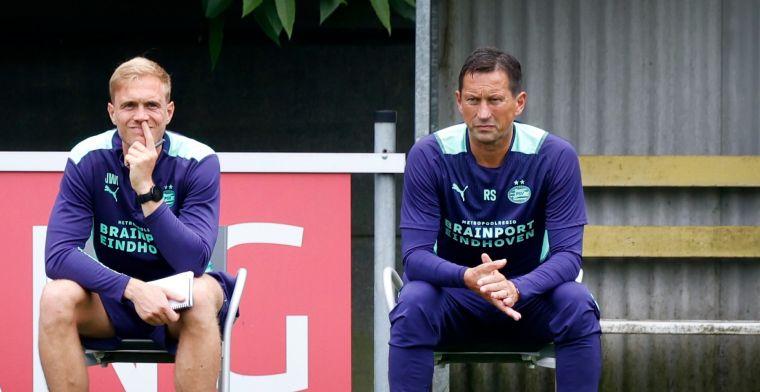 Schmidt bevestigt opnieuw naderend vertrek van PSV-duo: 'Kunnen transfer maken'
