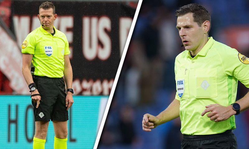 Afbeelding: UEFA heeft nieuws voor Kamphuis en Lindhout: Europese aanstellingen voor tweetal