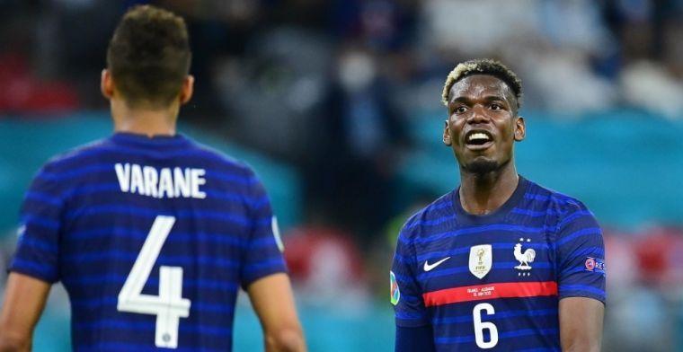 'Enorme spanningen in Franse EK-selectie: felle verwijten tussen Pogba en Pavard'