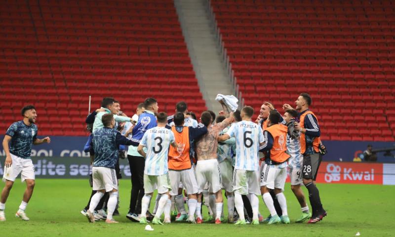 Afbeelding: Colombiaanse droom is afgelopen, topfinale in de Copa America