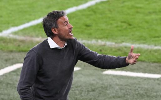 Afbeelding: Spanje wil na EK langer door met bondscoach Luis Enrique, maar stelt voorwaarde