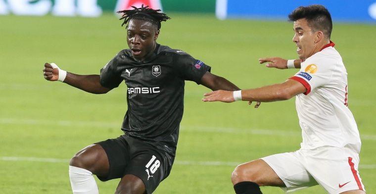 Topclubs vissen achter het net: 'Doku voelt zich goed bij Rennes en wil niet weg'