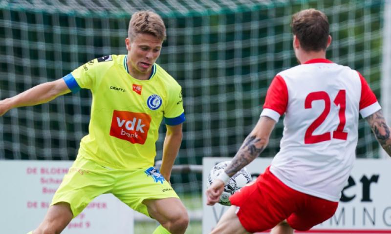 Afbeelding: KAA Gent speelt gelijk in oefenwedstrijd tegen Sparta Rotterdam