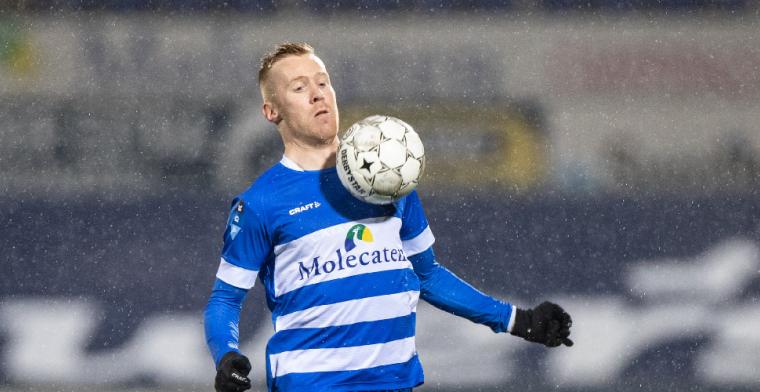 Witte rook: transfer van Van Duinen is afgerond. 'Welcome Mike'