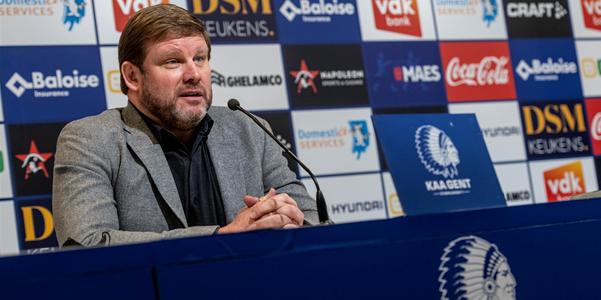 Vanhaezebrouck had eerder op nieuwe Gent-spits gerekend: Eer die op niveau is…