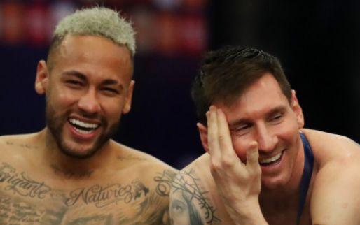 Afbeelding: Neymar buigt het hoofd voor ''filho da puta' Messi: 'Een knuffel voor mijn maat'