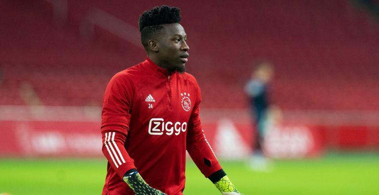 De Telegraaf: Lyon biedt miljoenen op Onana, Overmars wil dubbele voor Ajax