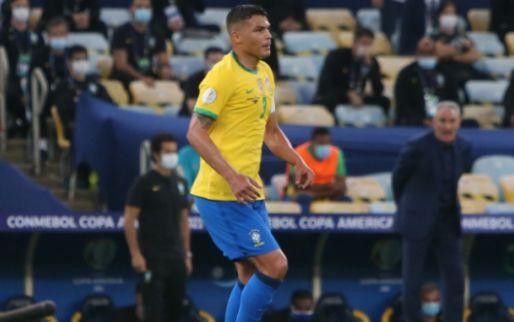Afbeelding: Thiago Silva afgemaakt in Brazilië: 'Je bent een verschrikkelijke aanvoerder'
